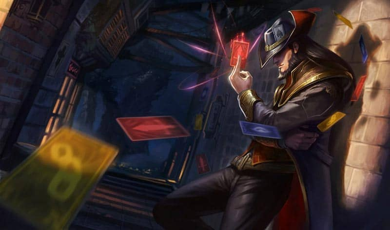 League of Legends Champion Twisted Fate