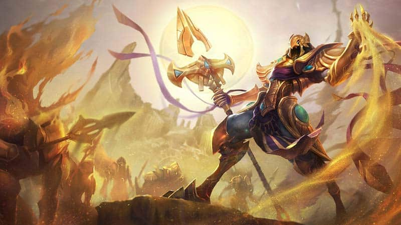 League of Legends Champion Azir