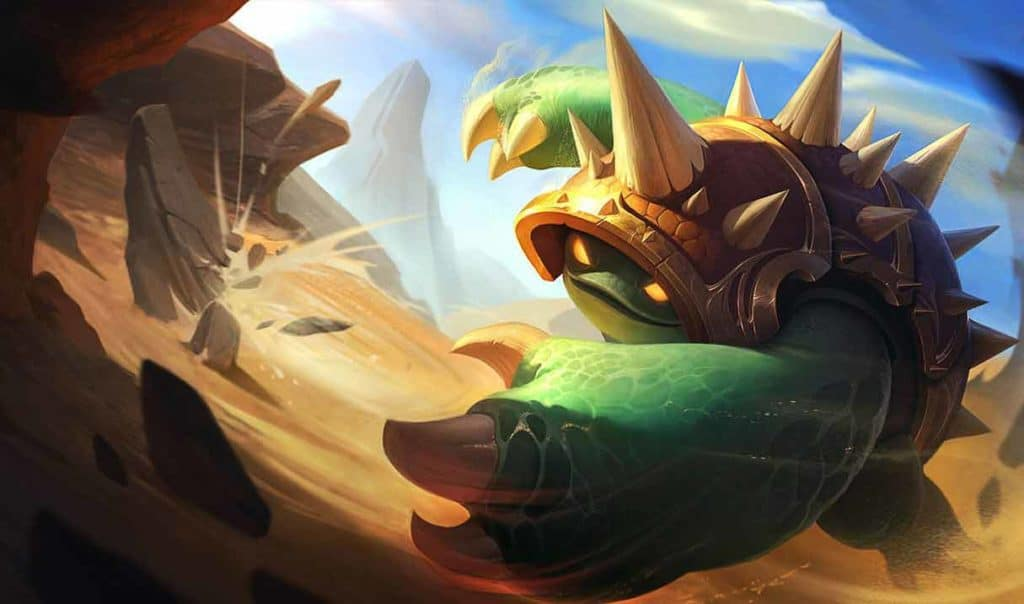 League of Legends Patch 11.8 Rammus Ult and ability Changes