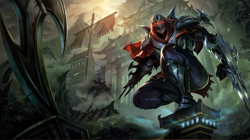 League of Legends Champion Zed